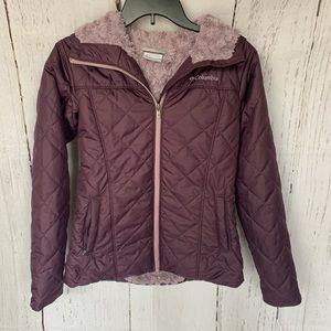 Columbia Copper Crest Fleece Lined Quilted Jacket